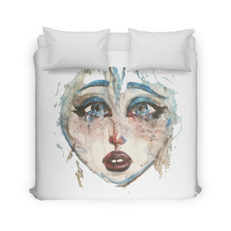 Bleu Home Duvet by dasiavou's Artist Shop