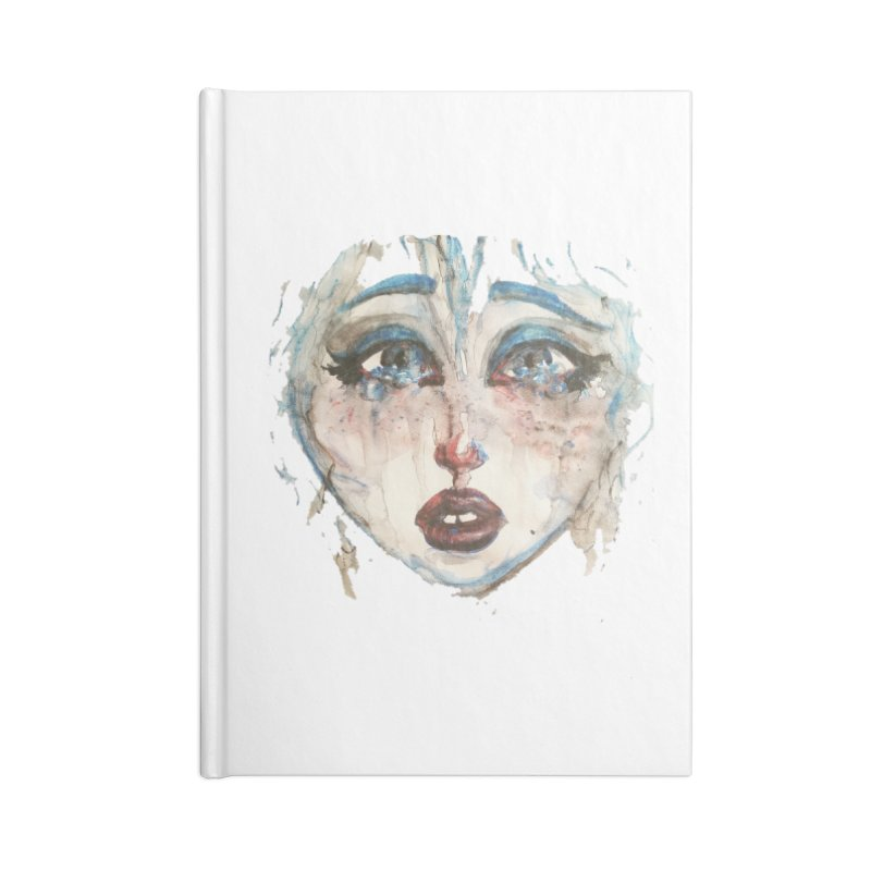 Bleu Accessories Notebook by dasiavou's Artist Shop