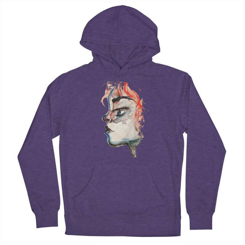 Spark Women's French Terry Pullover Hoody by dasiavou's Artist Shop