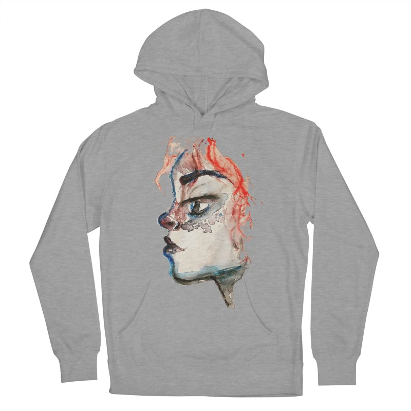 Spark Men's French Terry Pullover Hoody by dasiavou's Artist Shop