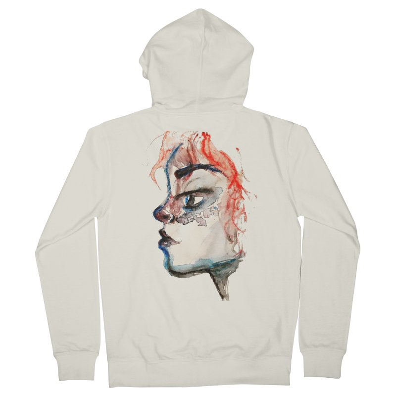 Spark Women's French Terry Zip-Up Hoody by dasiavou's Artist Shop