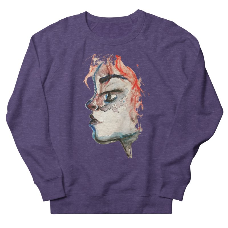 Spark Women's French Terry Sweatshirt by dasiavou's Artist Shop