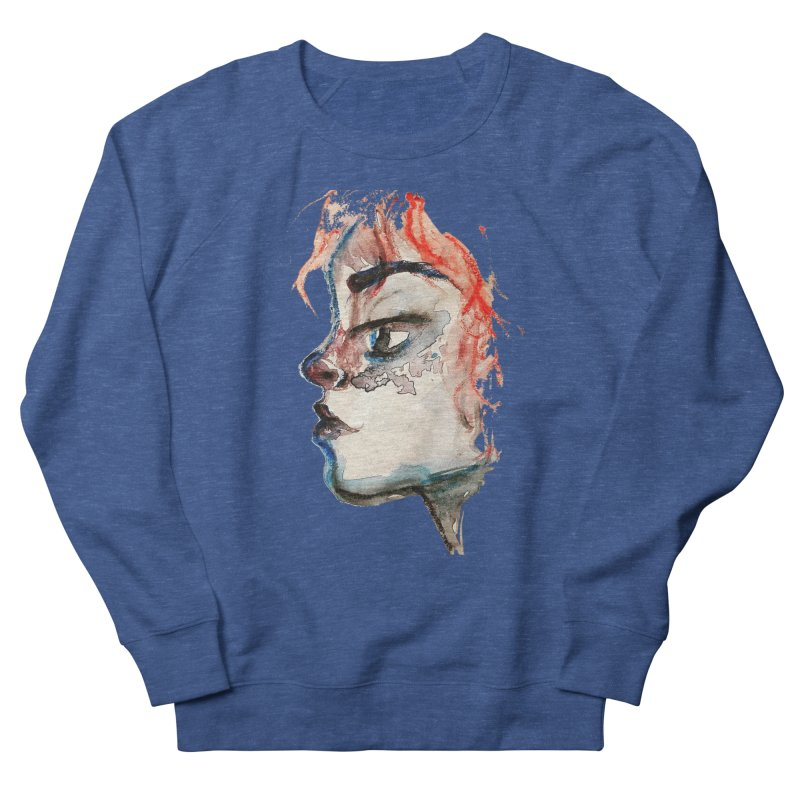 Spark Men's French Terry Sweatshirt by dasiavou's Artist Shop
