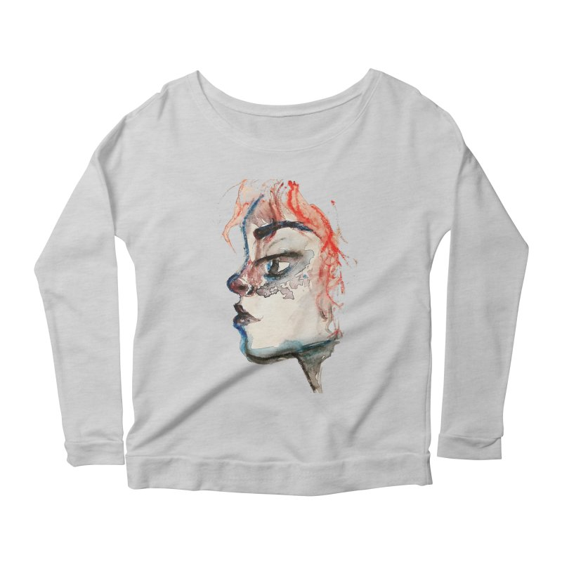 Spark Women's Scoop Neck Longsleeve T-Shirt by dasiavou's Artist Shop