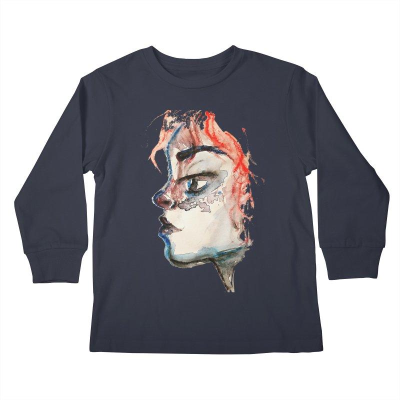 Spark Kids Longsleeve T-Shirt by dasiavou's Artist Shop