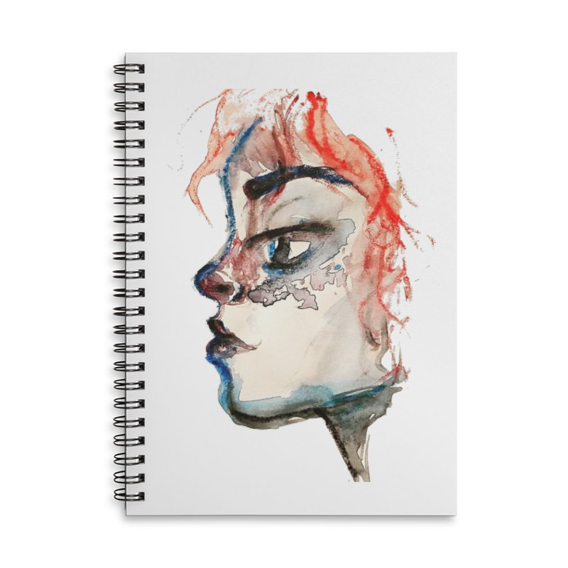 Spark Accessories Lined Spiral Notebook by dasiavou's Artist Shop