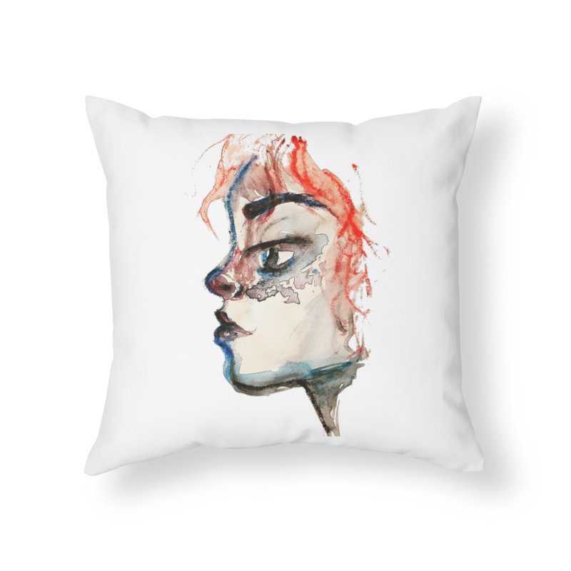 Spark Home Throw Pillow by dasiavou's Artist Shop
