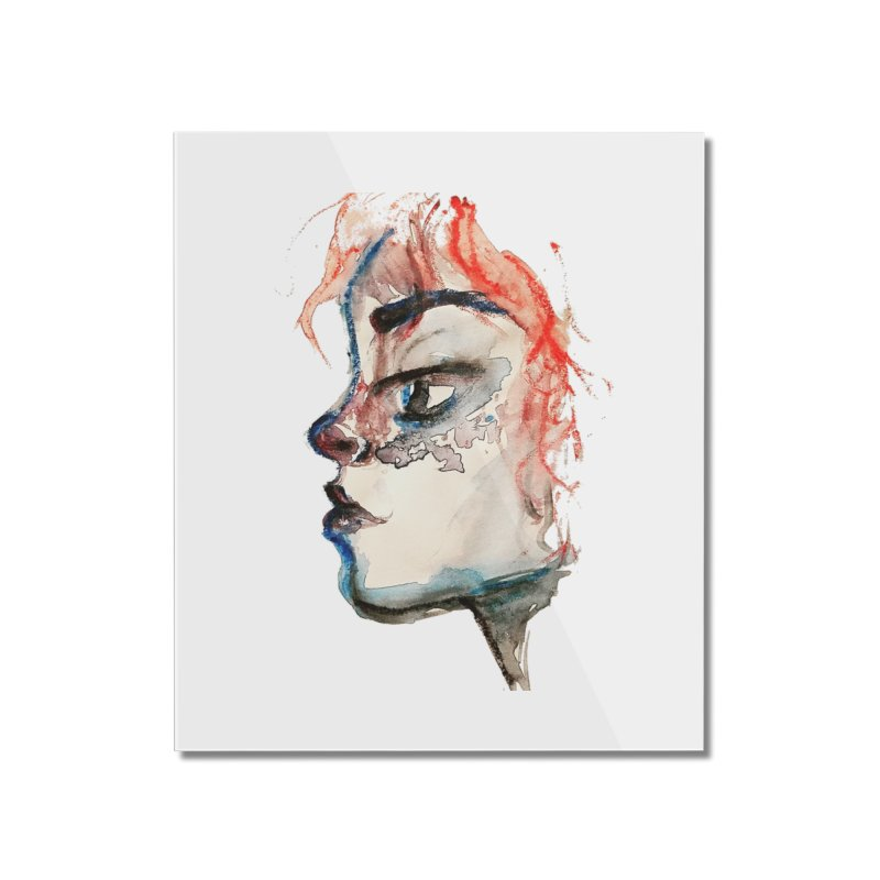 Spark Home Mounted Acrylic Print by dasiavou's Artist Shop
