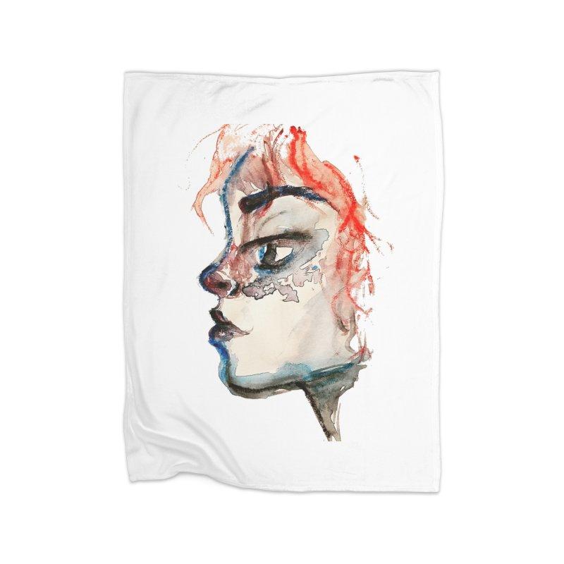 Spark Home Fleece Blanket Blanket by dasiavou's Artist Shop