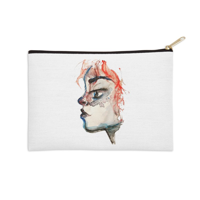 Spark Accessories Zip Pouch by dasiavou's Artist Shop