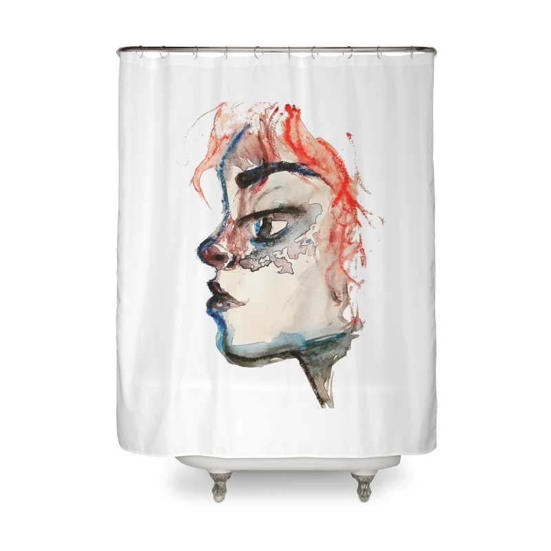 Spark Home Shower Curtain by dasiavou's Artist Shop