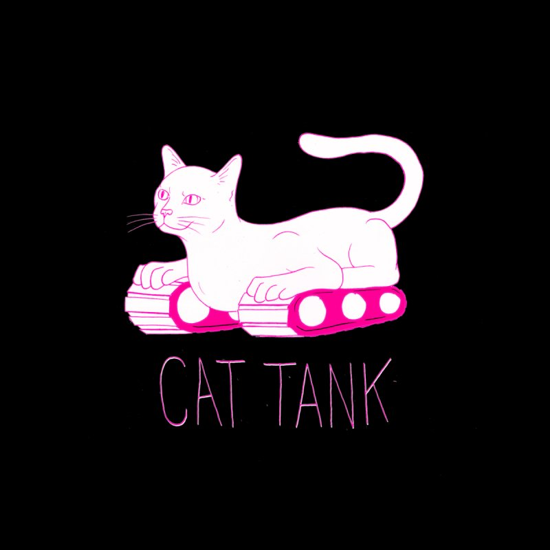 Cat Tank by Dave Jordan Art
