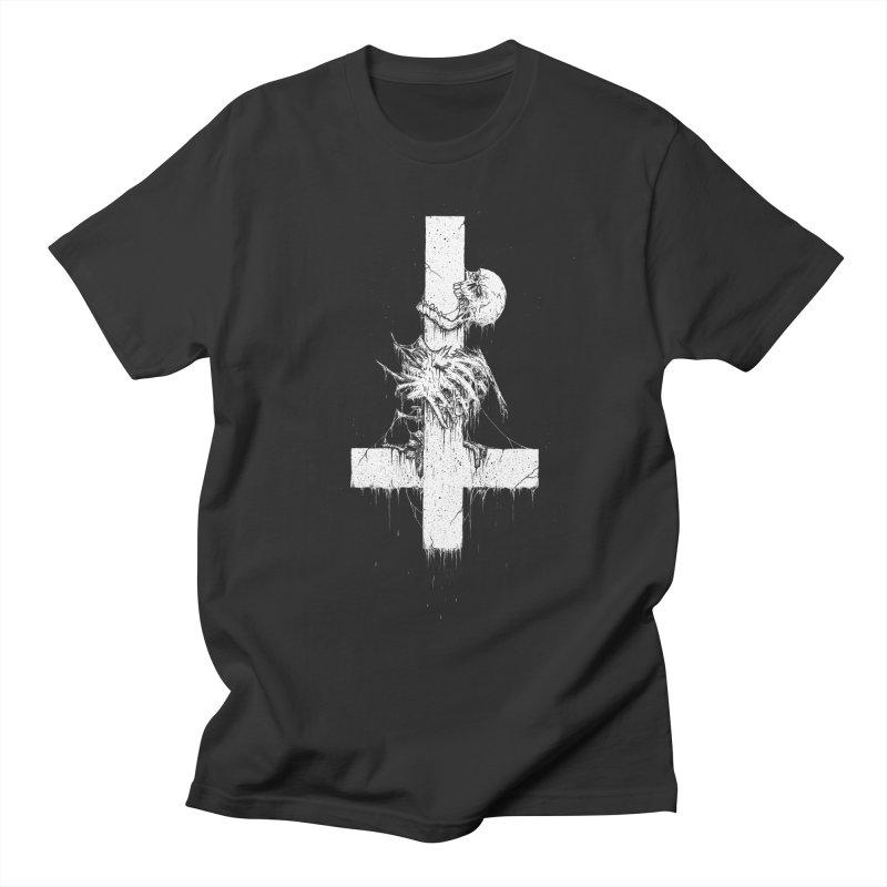 If crucifixion was not enough... Men's T-Shirt by Dave Jordan Art