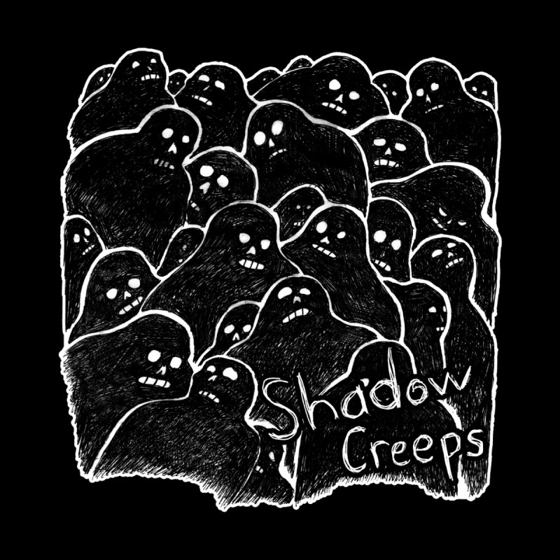 Shadow Creeps Women's Pullover Hoody by Dave Jordan Art