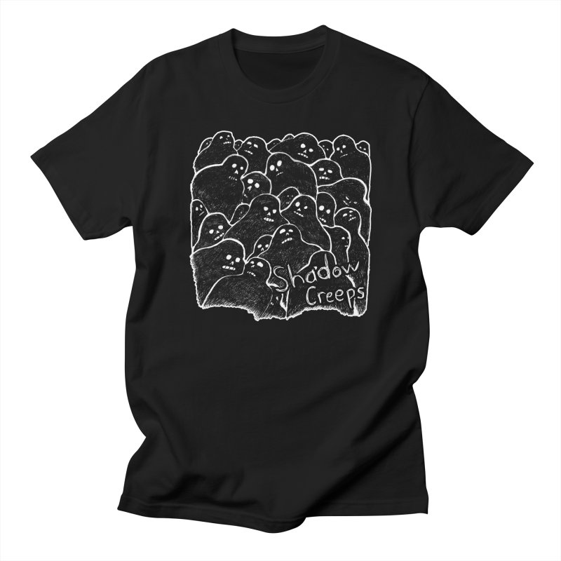 Shadow Creeps Men's T-Shirt by Dave Jordan Art
