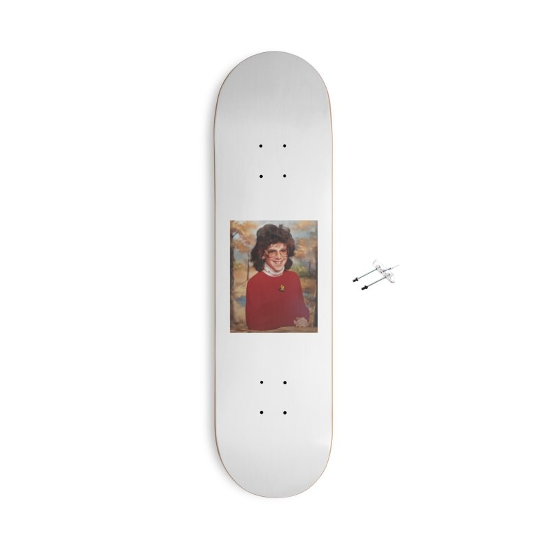 Tami's Fourth Grade School Picture Accessories Skateboard by Dave Jordan Art