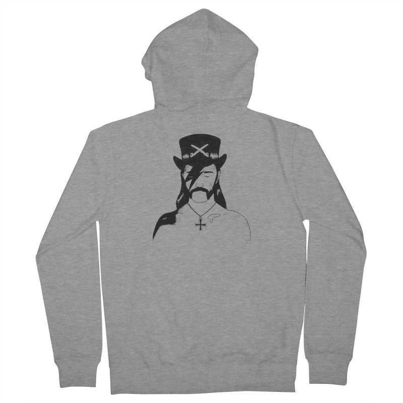 We Could Be Heroes Men's Zip-Up Hoody by Dave Jordan Art