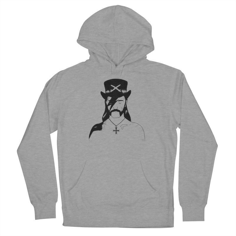 We Could Be Heroes Women's French Terry Pullover Hoody by Dave Jordan Art