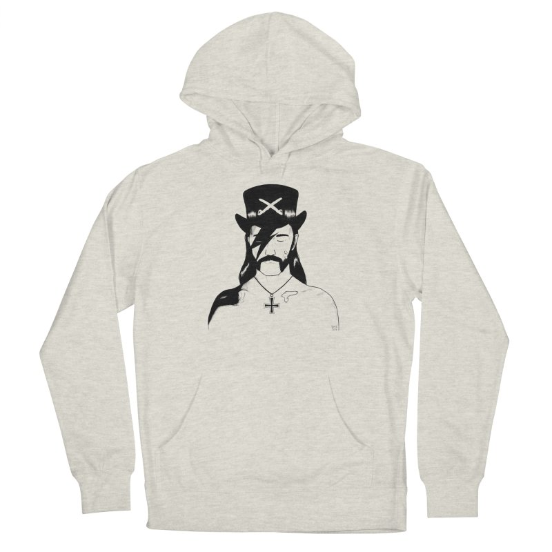 We Could Be Heroes Men's French Terry Pullover Hoody by Dave Jordan Art