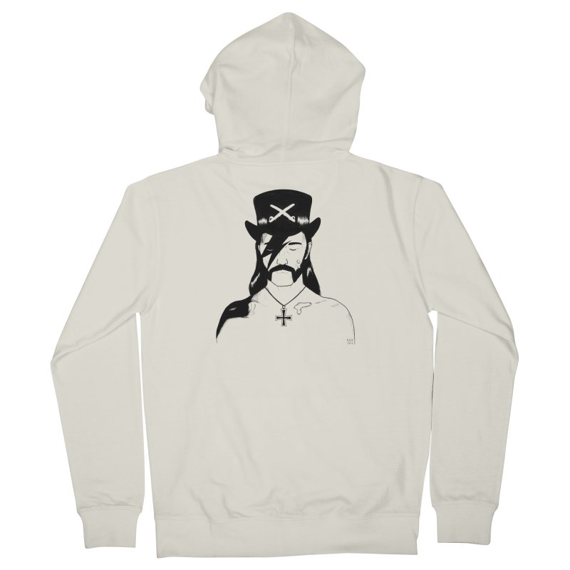We Could Be Heroes Men's French Terry Zip-Up Hoody by Dave Jordan Art