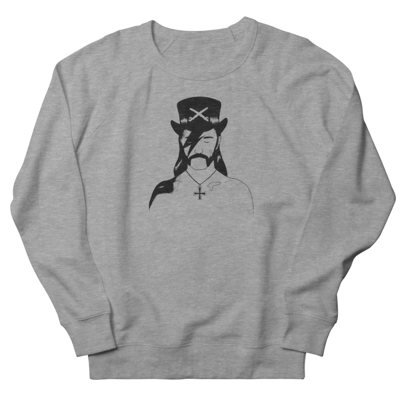 We Could Be Heroes Women's French Terry Sweatshirt by Dave Jordan Art