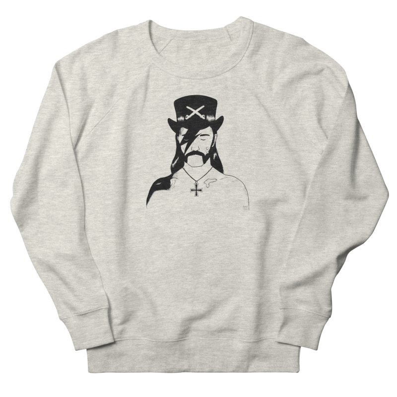 We Could Be Heroes Men's French Terry Sweatshirt by Dave Jordan Art