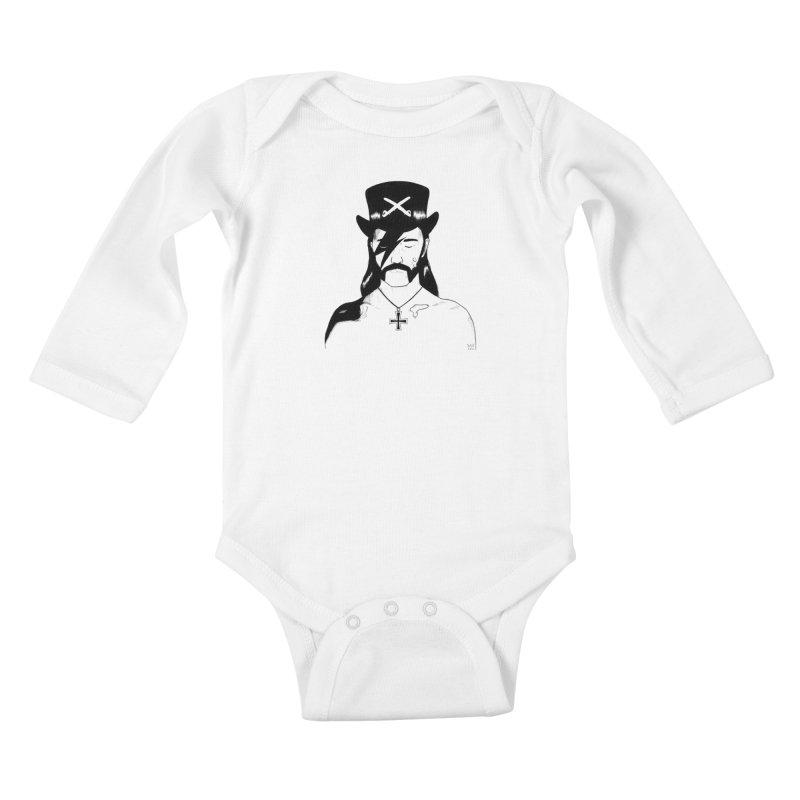 We Could Be Heroes Kids Baby Longsleeve Bodysuit by Dave Jordan Art