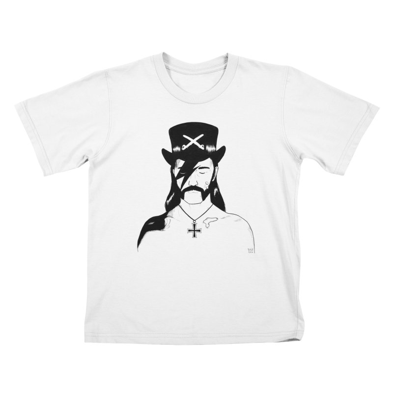 We Could Be Heroes Kids T-Shirt by Dave Jordan Art