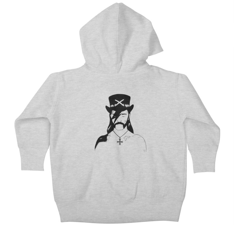 We Could Be Heroes Kids Baby Zip-Up Hoody by Dave Jordan Art