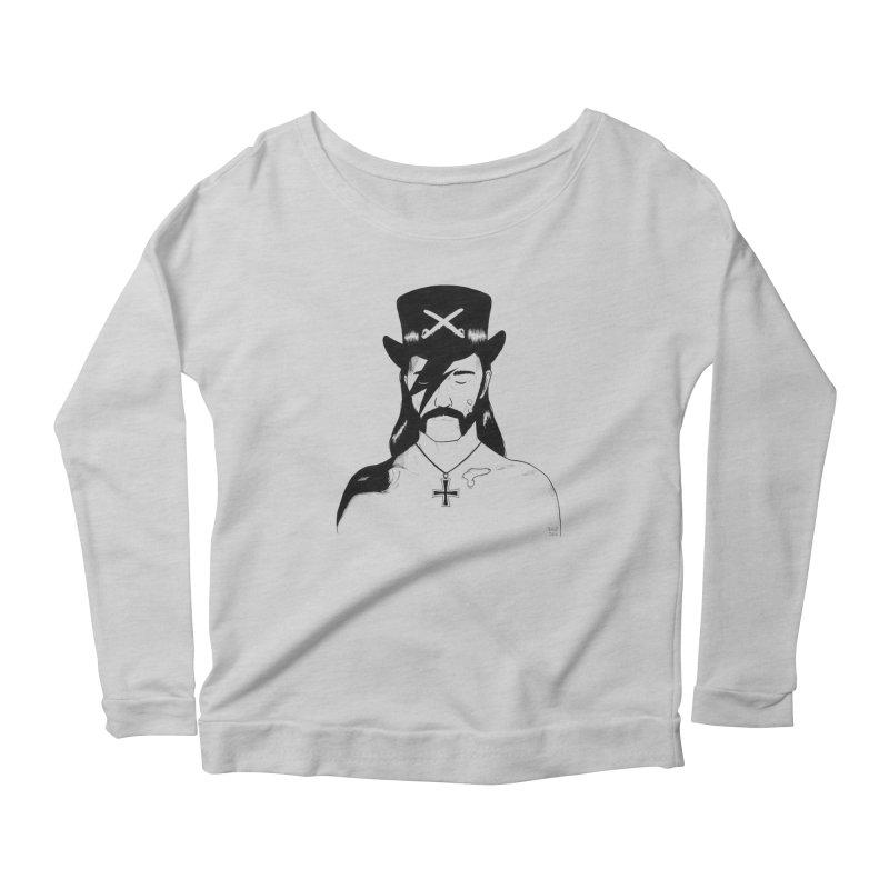 We Could Be Heroes Women's Scoop Neck Longsleeve T-Shirt by Dave Jordan Art