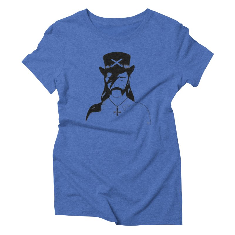 We Could Be Heroes Women's Triblend T-Shirt by Dave Jordan Art