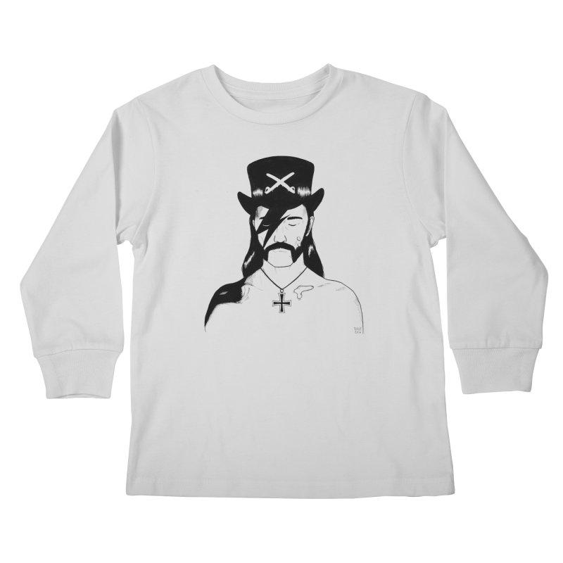 We Could Be Heroes Kids Longsleeve T-Shirt by Dave Jordan Art