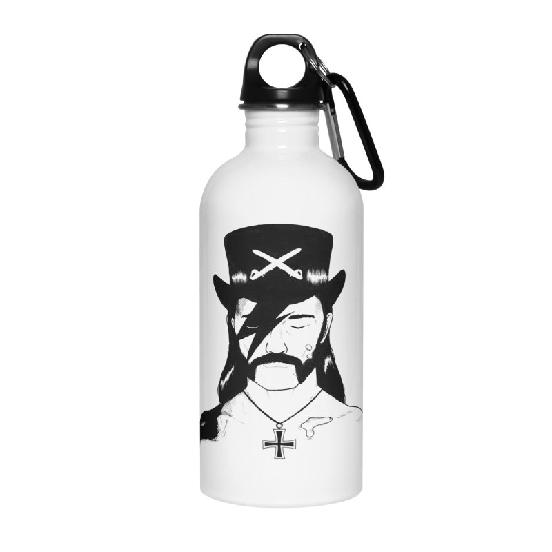 We Could Be Heroes Accessories Water Bottle by Dave Jordan Art