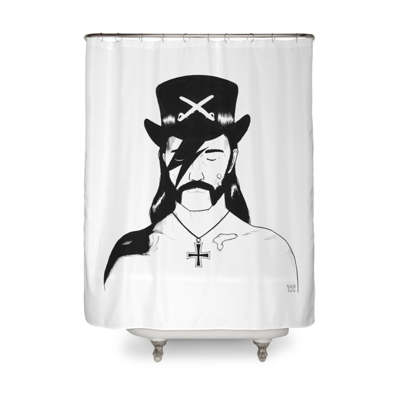 We Could Be Heroes Home Shower Curtain by Dave Jordan Art