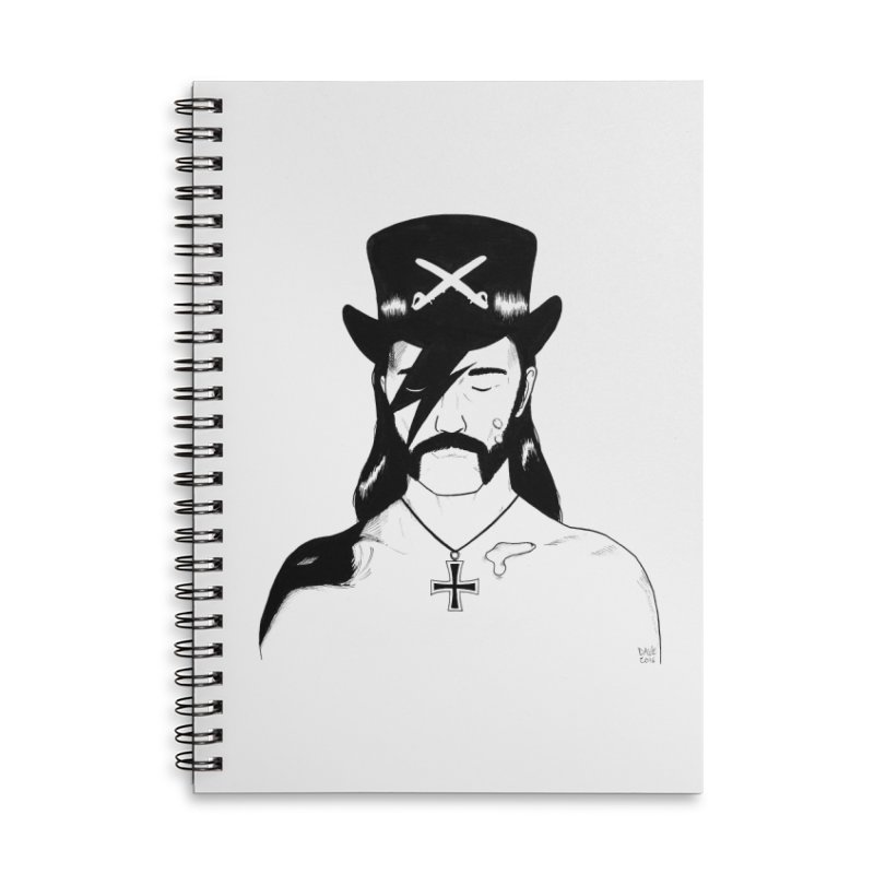 We Could Be Heroes Accessories Notebook by Dave Jordan Art