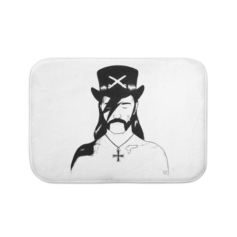 We Could Be Heroes Home Bath Mat by Dave Jordan Art