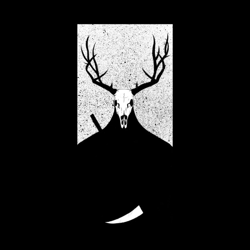 The Elk Reaper Men's T-Shirt by Dave Jordan Art