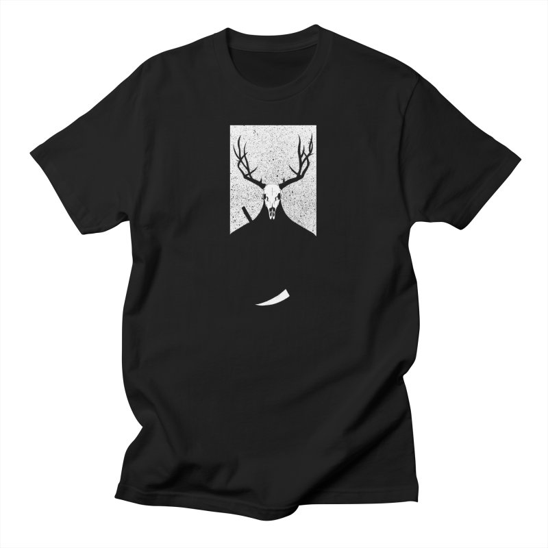 The Elk Reaper Men's T-Shirt by Dave Jordan Art