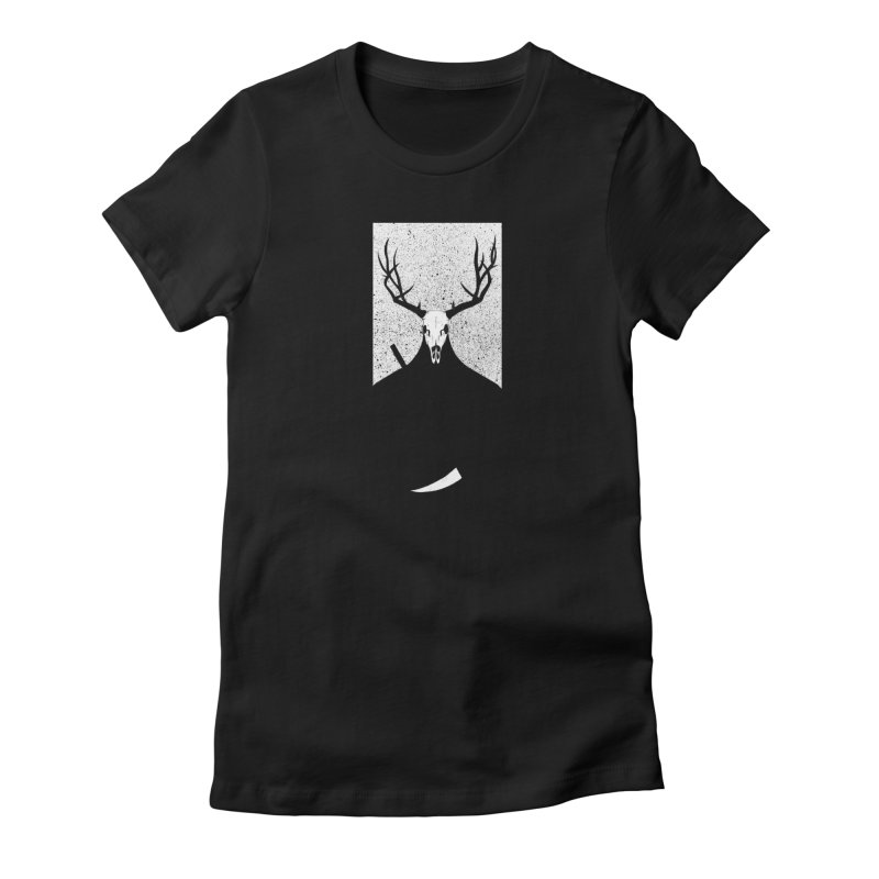 The Elk Reaper Women's T-Shirt by Dave Jordan Art