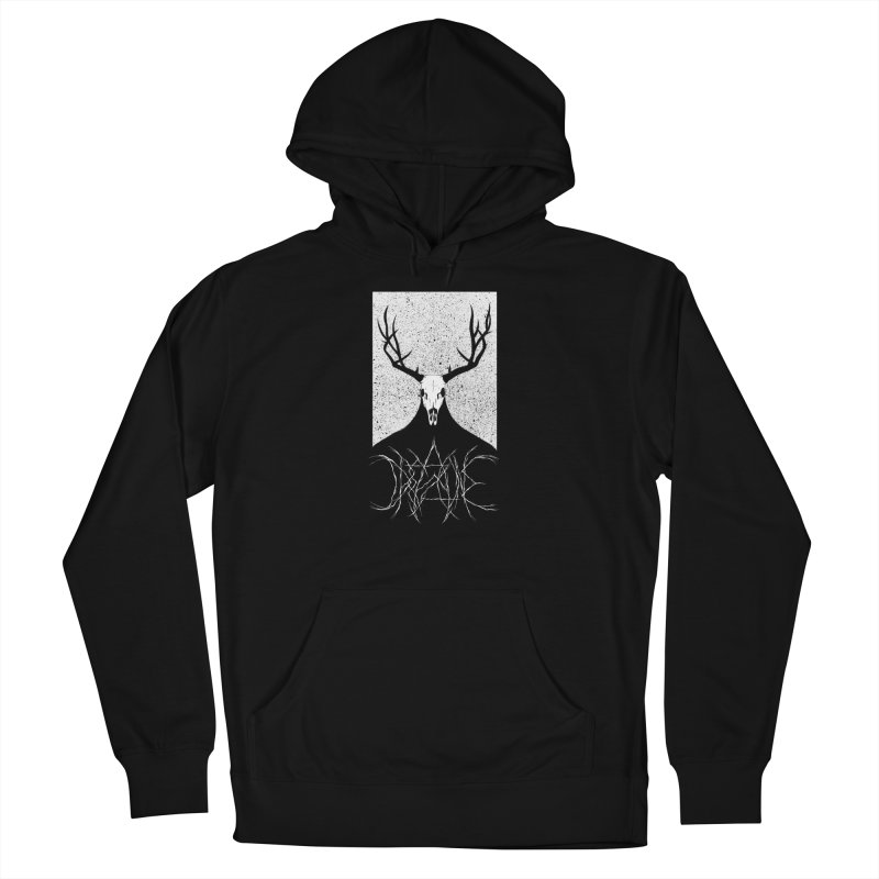 The Elk Reaper (Dreadzone Variant) Women's Pullover Hoody by Dave Jordan Art