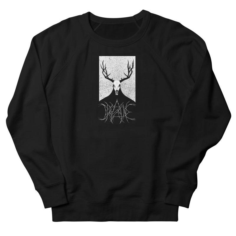 The Elk Reaper (Dreadzone Variant) Women's French Terry Sweatshirt by Dave Jordan Art