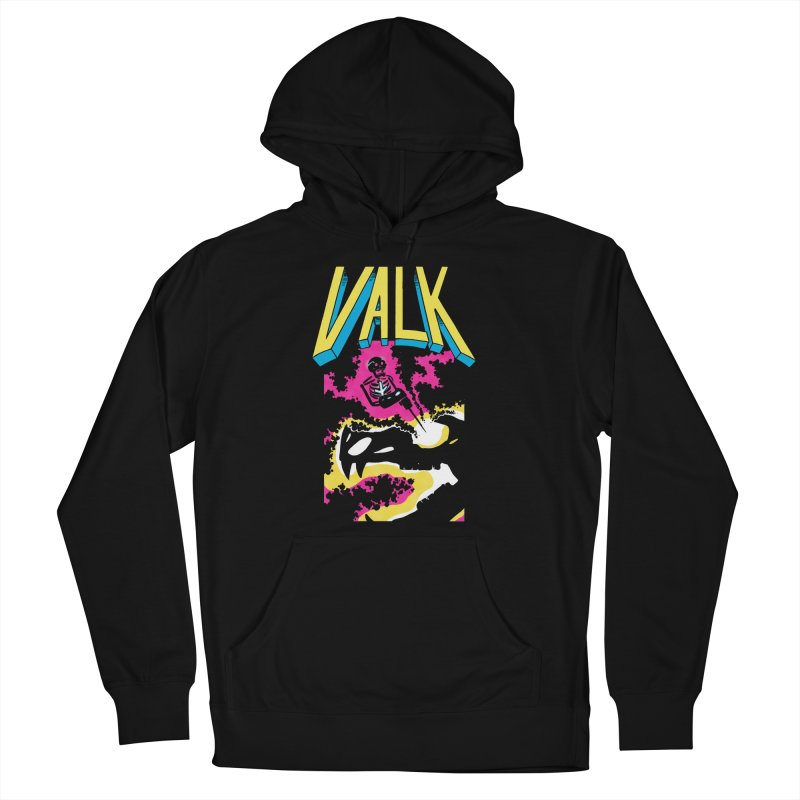 VALK Women's French Terry Pullover Hoody by Dave Jordan Art