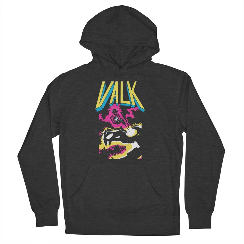 VALK Men's French Terry Pullover Hoody by Dave Jordan Art