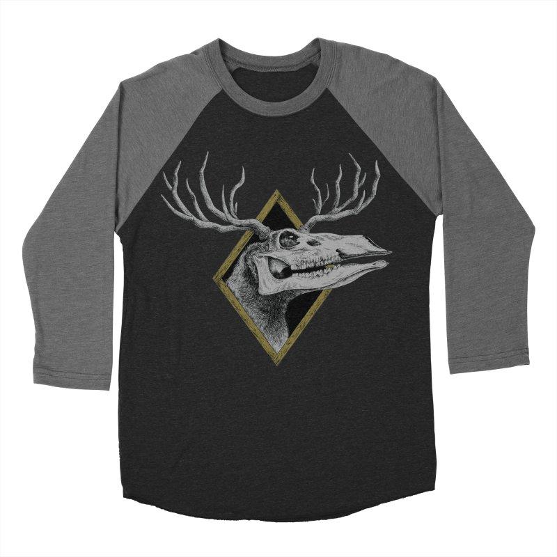 Ritual Women's Baseball Triblend Longsleeve T-Shirt by Dave Jordan Art