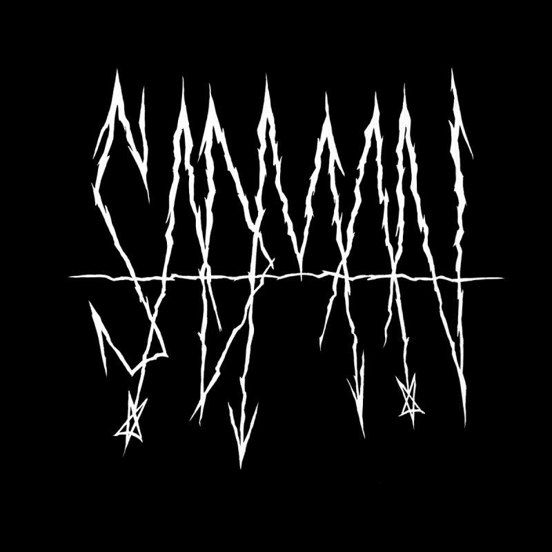 Sadman - Sadmetal (white) by Dave Jordan Art