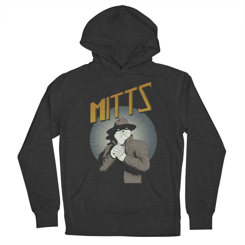 Mitts Shirt Women's French Terry Pullover Hoody by Dave Jordan Art