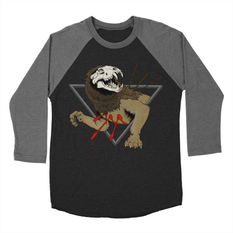 Resurgent Men's Baseball Triblend Longsleeve T-Shirt by Dave Jordan Art