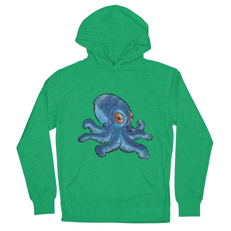 Cephalopodette Women's Pullover Hoody by Illustrator Dave's Artist Shop