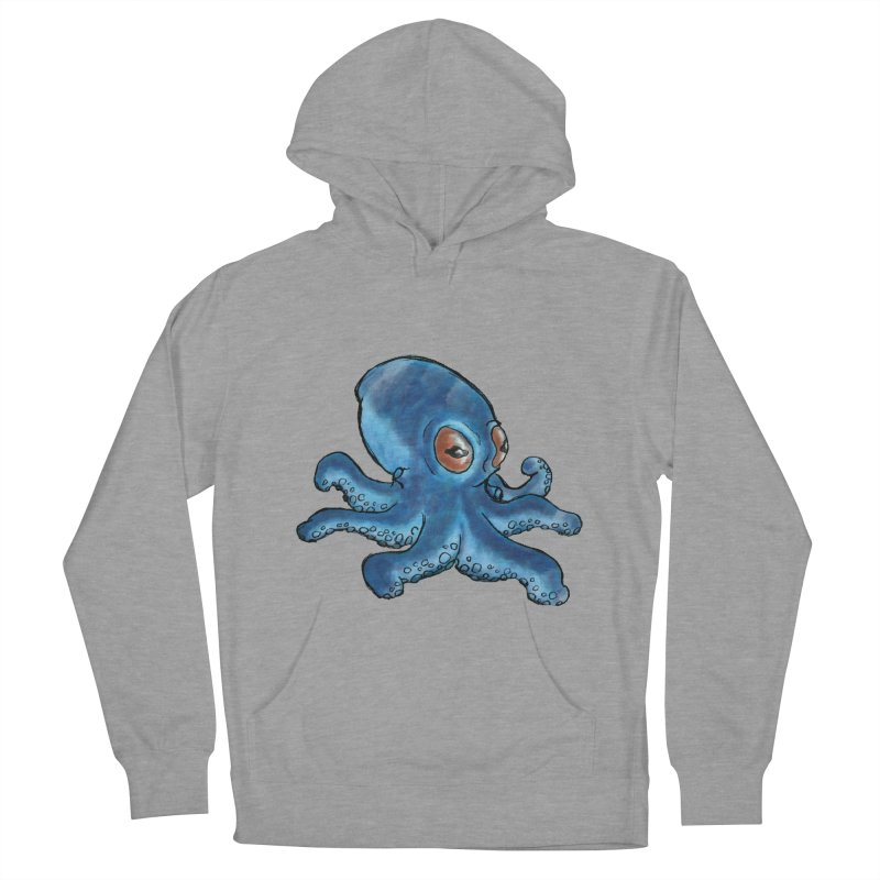Cephalopodette Men's Pullover Hoody by Illustrator Dave's Artist Shop