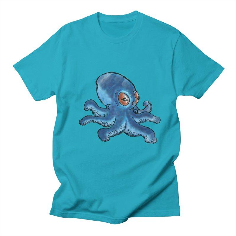 Cephalopodette Men's T-Shirt by Illustrator Dave's Artist Shop